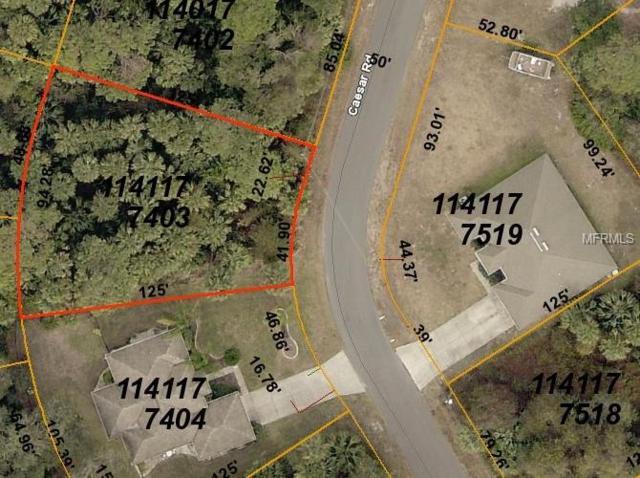 Caesar Road, North Port, FL 34288 (MLS #D6105832) :: Medway Realty