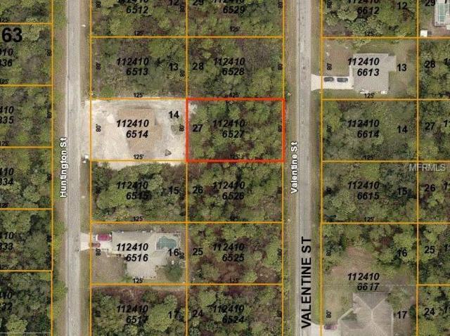 Valentine Street, North Port, FL 34288 (MLS #D6106162) :: Medway Realty