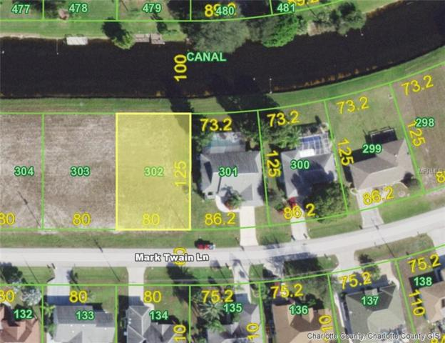 122 Mark Twain (Lot 302) Lane, Rotonda West, FL 33947 (MLS #D6106420) :: Burwell Real Estate