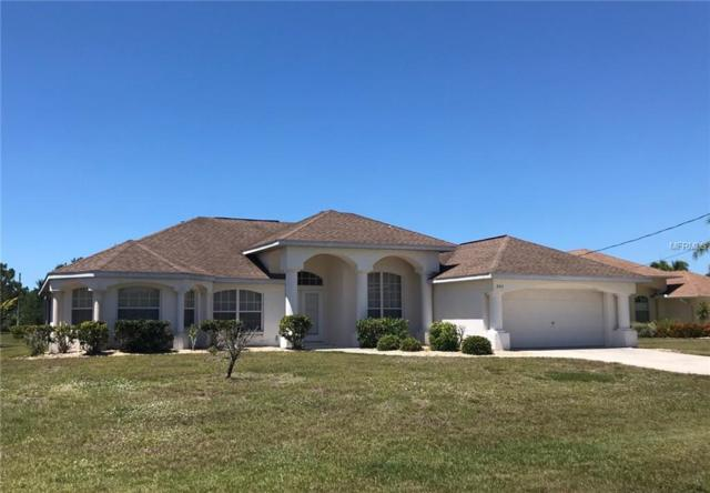 802 Boundary Blvd Boulevard, Rotonda West, FL 33947 (MLS #D6106513) :: GO Realty