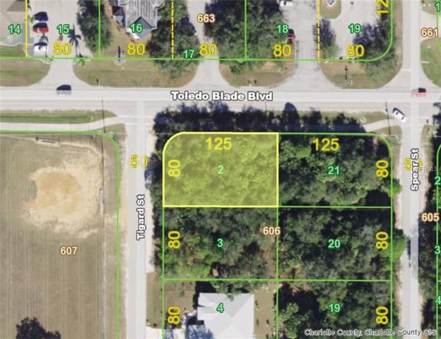 17905 Toledo Blade (Lot 2) Boulevard, Port Charlotte, FL 33948 (MLS #D6106667) :: Delgado Home Team at Keller Williams