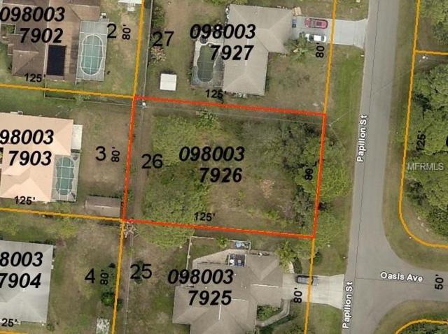 Papillon Street, North Port, FL 34287 (MLS #D6106735) :: Medway Realty