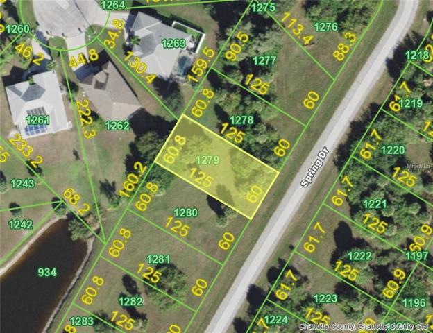141 Spring (Lot 1279) Drive, Rotonda West, FL 33947 (MLS #D6106793) :: RE/MAX Realtec Group