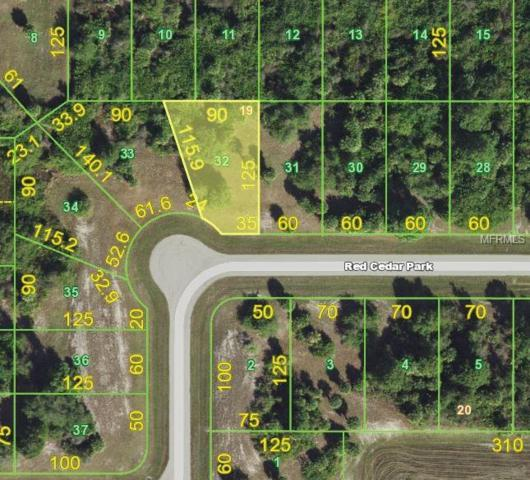 138 Red Cedar Park, Rotonda West, FL 33947 (MLS #D6106916) :: The BRC Group, LLC