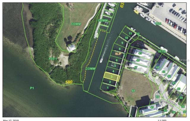 11711 Anglers Club Drive Slip 3, Placida, FL 33946 (MLS #D6107037) :: Cartwright Realty