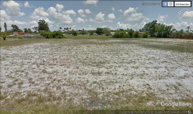 102 Boundary Boulevard, Rotonda West, FL 33947 (MLS #D6107170) :: The Duncan Duo Team