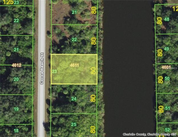 10216 Cocoa Beach (Lot 23) Street, Port Charlotte, FL 33981 (MLS #D6107191) :: The Duncan Duo Team