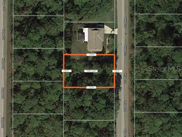 5373 Wilder Street, Port Charlotte, FL 33981 (MLS #D6107374) :: Bustamante Real Estate