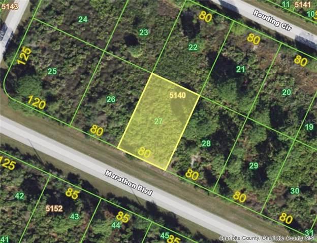 13292 Marathon (Lot 27) Boulevard, Port Charlotte, FL 33981 (MLS #D6107801) :: The BRC Group, LLC