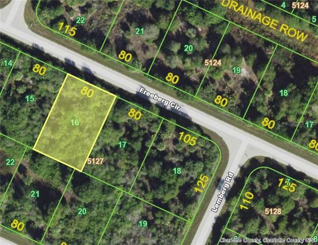 7146 Freeberg (Lot 16) Circle, Port Charlotte, FL 33981 (MLS #D6107869) :: Jeff Borham & Associates at Keller Williams Realty