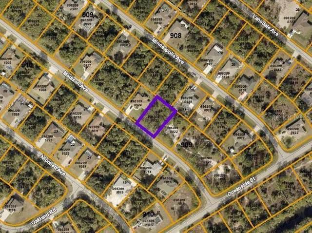 Sheboygan Avenue, North Port, FL 34286 (MLS #D6107911) :: Team Pepka