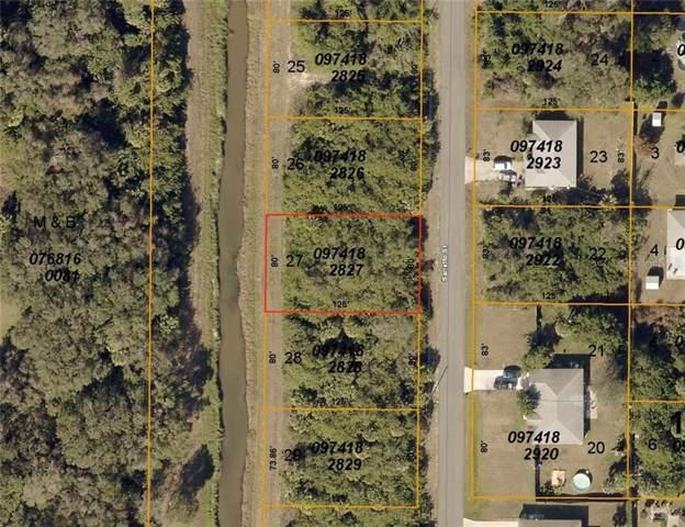 Sarletto (Lot 27) Street, North Port, FL 34287 (MLS #D6108006) :: The Duncan Duo Team