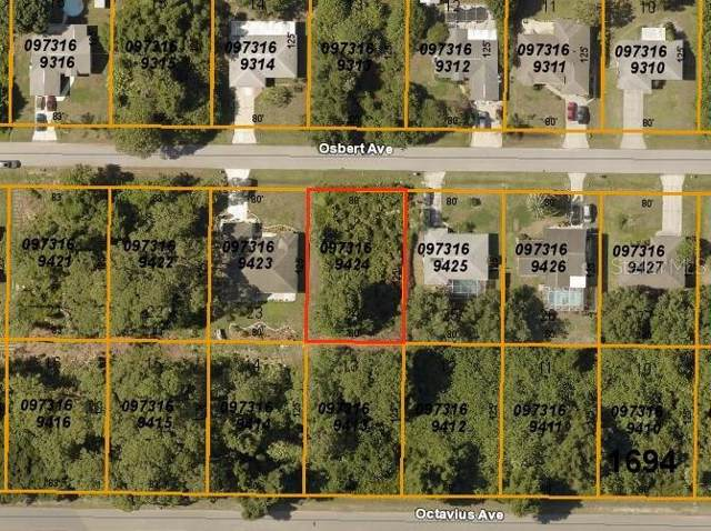 Osbert Avenue, North Port, FL 34287 (MLS #D6108099) :: Lock & Key Realty