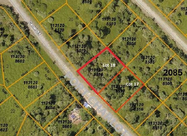LOT 18 BLOCK 2085 Cadell Street, North Port, FL 34288 (MLS #D6108186) :: Team Pepka