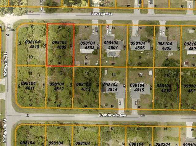 Lucaya Avenue, North Port, FL 34286 (MLS #D6108657) :: The Brenda Wade Team