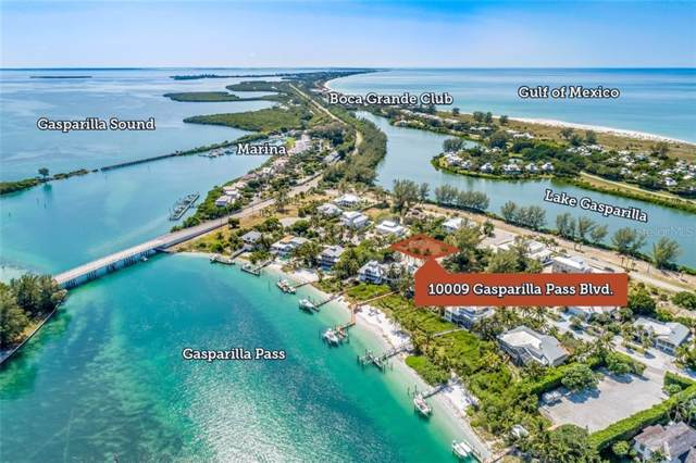10009 Gasparilla Pass Boulevard, Boca Grande, FL 33921 (MLS #D6108802) :: The BRC Group, LLC