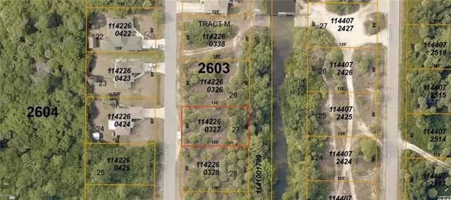 LOT 27 BLOCK 2603 Kiska Road, North Port, FL 34288 (MLS #D6109661) :: Team Bohannon Keller Williams, Tampa Properties