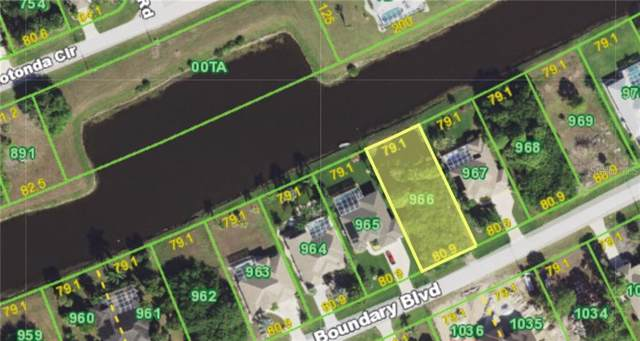 1110 Boundary Boulevard, Rotonda West, FL 33947 (MLS #D6110383) :: Team Borham at Keller Williams Realty
