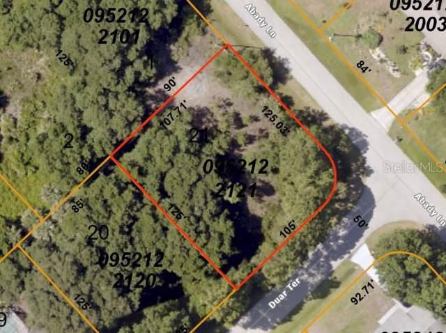 Duar Terrace, North Port, FL 34291 (MLS #D6110787) :: 54 Realty