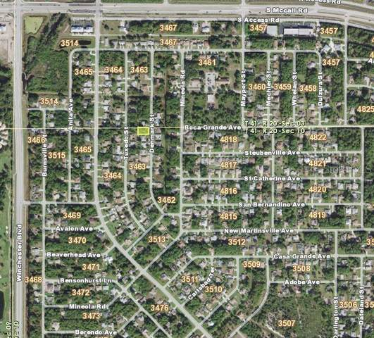 7005 Denmark Street, Englewood, FL 34224 (MLS #D6111173) :: Cartwright Realty