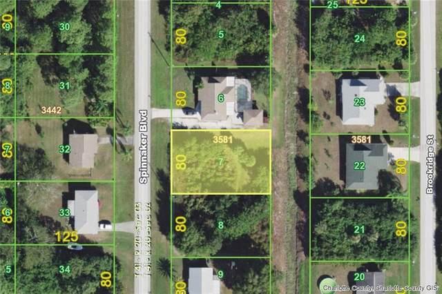 6254 Spinnaker (Lot 7 ) Boulevard, Englewood, FL 34224 (MLS #D6112012) :: Medway Realty