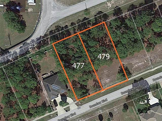 477 Boundary Boulevard, Rotonda West, FL 33947 (MLS #D6112111) :: The Duncan Duo Team