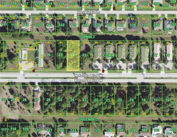 194 Rotonda Boulevard W, Rotonda West, FL 33947 (MLS #D6112242) :: The Duncan Duo Team
