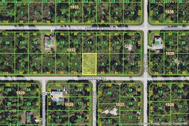 12092 Benham (Lot 7) Avenue, Port Charlotte, FL 33981 (MLS #D6112347) :: Premier Home Experts