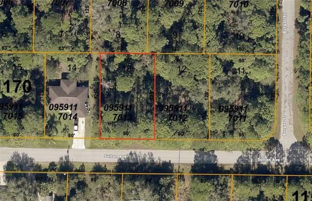Lot 13 Sultan Avenue, North Port, FL 34286 (MLS #D6112710) :: Team Bohannon Keller Williams, Tampa Properties