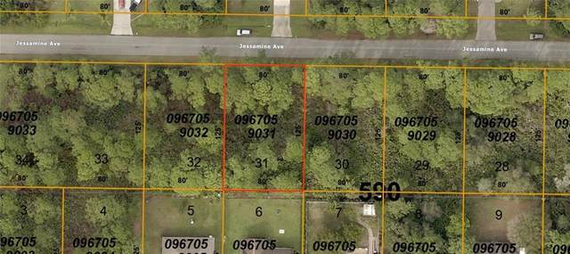Lot 31 Jessamine Avenue, North Port, FL 34291 (MLS #D6113009) :: Bustamante Real Estate