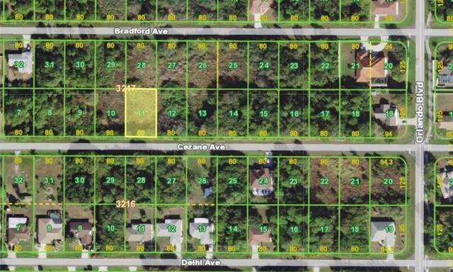 22460 Cezane Avenue, Port Charlotte, FL 33952 (MLS #D6113278) :: The Light Team