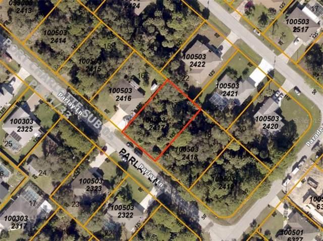 LOT 17 BLOCK 324 Parlay Lane, North Port, FL 34286 (MLS #D6113509) :: Bustamante Real Estate
