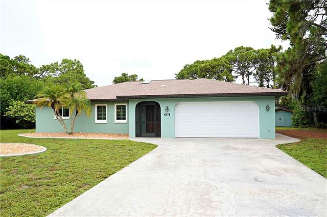 401 Artists Avenue, Englewood, FL 34223 (MLS #D6113542) :: Rabell Realty Group