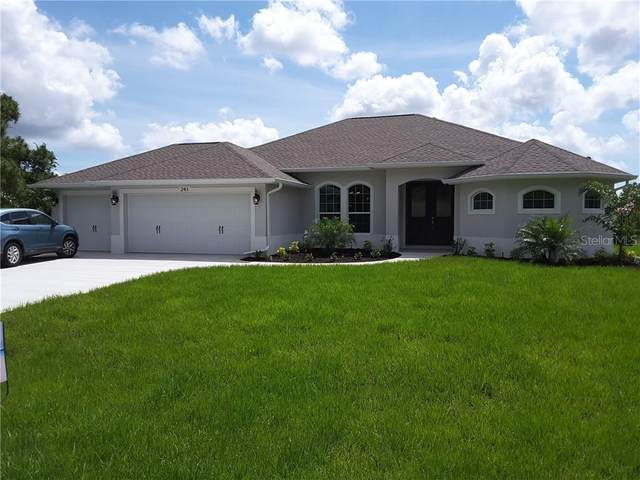 245 Broadmoor Lane, Rotonda West, FL 33947 (MLS #D6113664) :: Team Buky