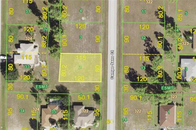 16473 Campo Sano (Lot 2) Court, Punta Gorda, FL 33955 (MLS #D6113861) :: Heckler Realty