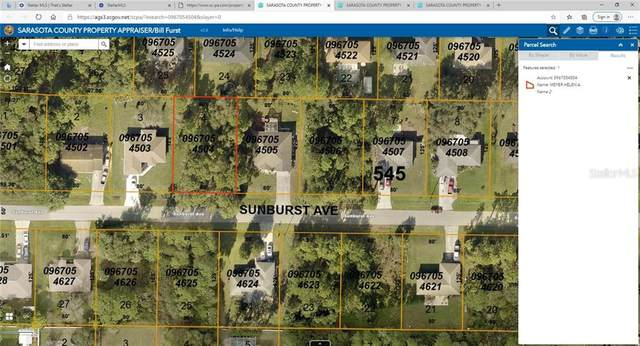Sunburst Avenue, North Port, FL 34286 (MLS #D6114263) :: Cartwright Realty