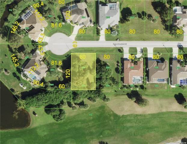 88 Long Meadow (Lot 689) Place, Rotonda West, FL 33947 (MLS #D6115009) :: Delgado Home Team at Keller Williams