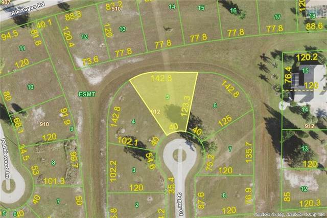 17141 Sugar (Lot 5) Court, Punta Gorda, FL 33955 (MLS #D6115096) :: Burwell Real Estate