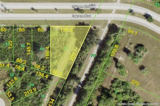 199 Ingram (Lot 58) Boulevard, Rotonda West, FL 33947 (MLS #D6115097) :: The Hesse Team