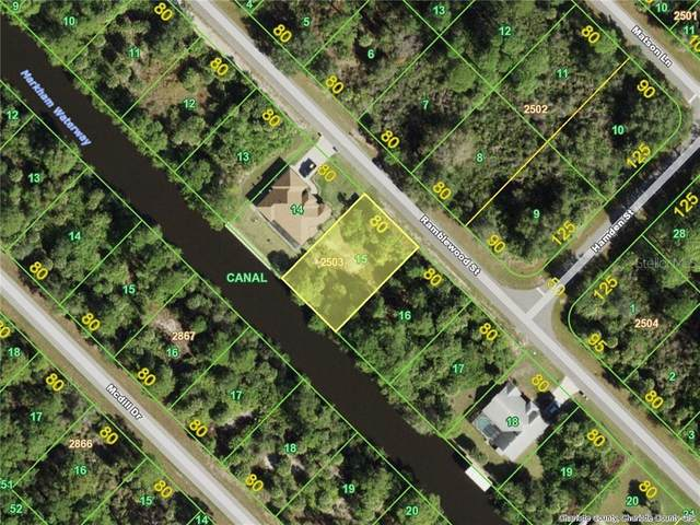 395 Ramblewood (Lot15) Street, Port Charlotte, FL 33953 (MLS #D6115120) :: Griffin Group