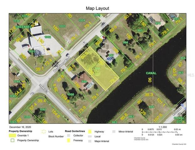 404 Boundary Boulevard, Rotonda West, FL 33947 (MLS #D6115466) :: Griffin Group