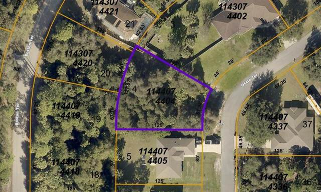 LOT 04 BLOCK 744 Ocala Terrace, North Port, FL 34288 (MLS #D6115991) :: Southern Associates Realty LLC