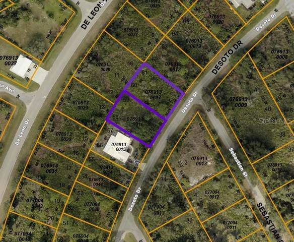 LOT 58/59 BLOCK E De Soto Drive, North Port, FL 34287 (MLS #D6116712) :: Visionary Properties Inc