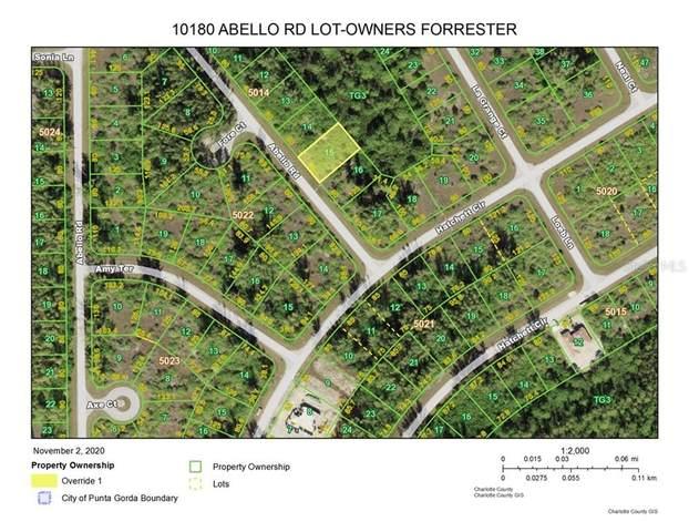 10180 Abello Road, Port Charlotte, FL 33981 (MLS #D6116770) :: Medway Realty