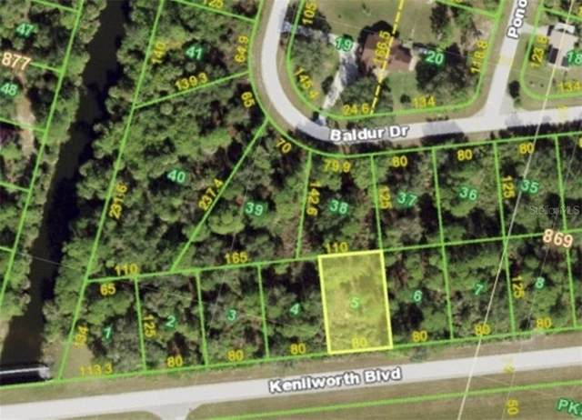 20532 Kenilworth Boulevard, Port Charlotte, FL 33954 (MLS #D6116833) :: Memory Hopkins Real Estate