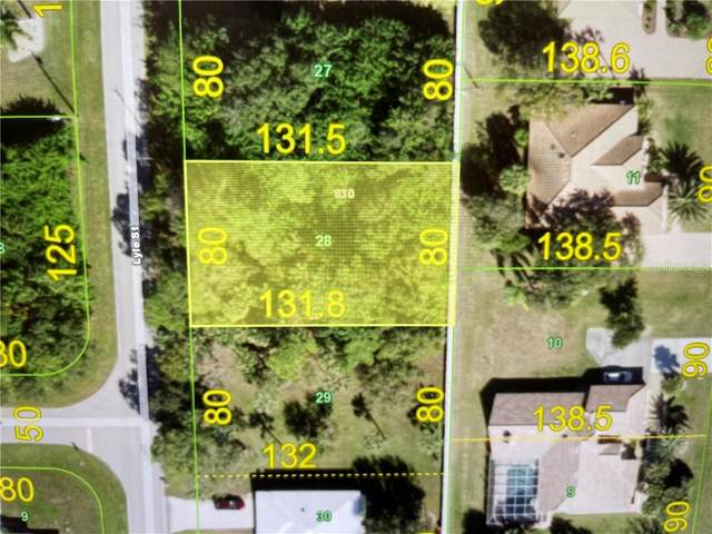 1172 Lyle Street, Port Charlotte, FL 33952 (MLS #D6117415) :: Rabell Realty Group