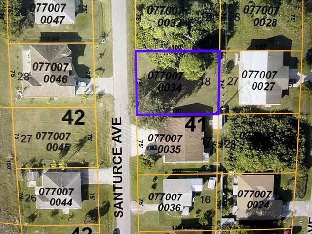 Lot 18 Santurce Avenue, North Port, FL 34287 (MLS #D6117820) :: The Duncan Duo Team