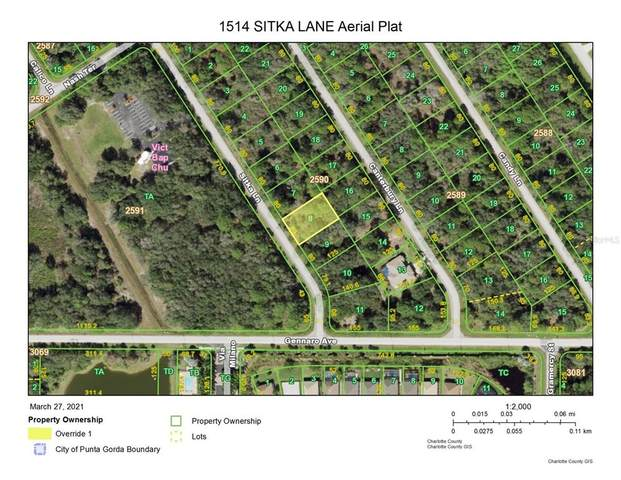1514 Sitka Lane, Port Charlotte, FL 33953 (MLS #D6118085) :: Rabell Realty Group
