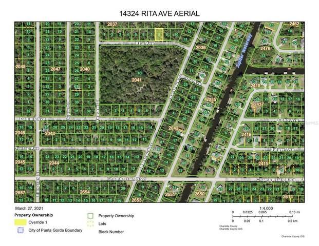 14324 Rita Avenue, Port Charlotte, FL 33953 (MLS #D6118222) :: Rabell Realty Group