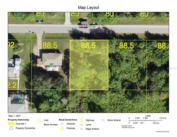 12085 Warden (Lot 26) Avenue, Port Charlotte, FL 33981 (MLS #D6118463) :: Rabell Realty Group